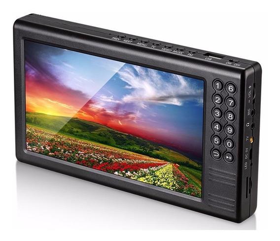 Mini Tv Digital Portátil 7 Mtv-70a