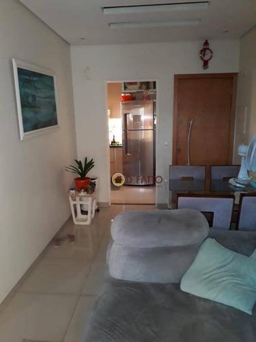 Apartamento Com 2 Dormitórios À Venda, 56 M² Por R$ 280.000,00 - Gopoúva - Guarulhos/sp - Ap2565