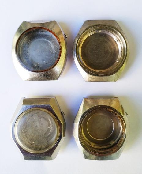 Lote De 4 Caixas Do Relógio De Pulso Orient Automático