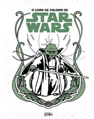 Imagem 1 de 1 de O Livro De Colorir De Star Wars