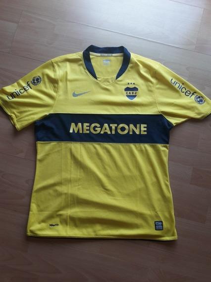 Camiseta De Boca Juniors Megatone 2008 Match Dri Fit
