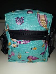 Shoulder Bag Feminina Sereia, Bolsinha Feminina, Pochete Fem