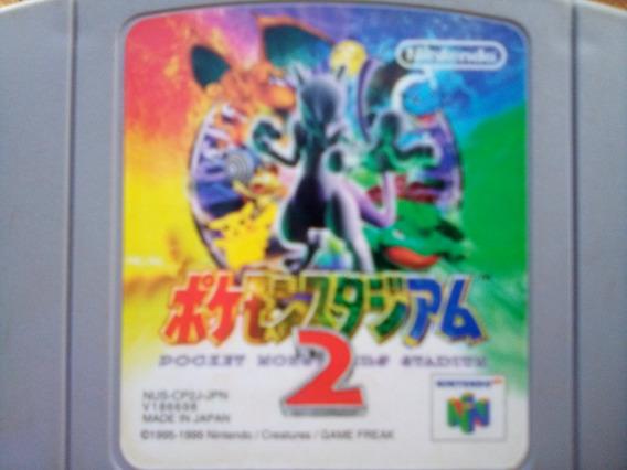Pokemon Statiun 2 Nintendo 64 N-64 Japonesa