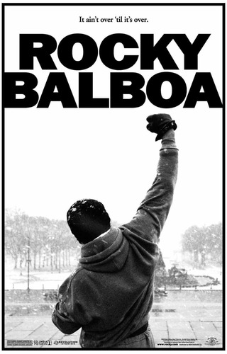 Rocky Balboa Làmina 70 Cm X 50 Cm Papel 300 Gramos
