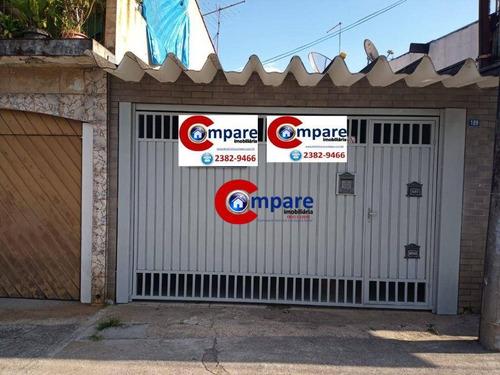 Imagem 1 de 15 de Casa Terreá Com 02 Quartos, 02 Vagas, Edícula. - Ca1301