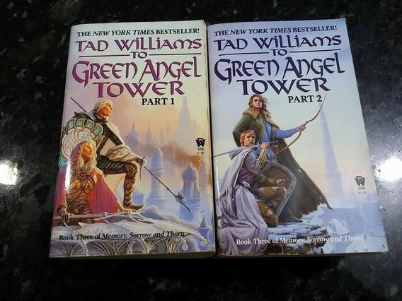Livros Pocket - To Green Angel Tower - 2 Vols!!