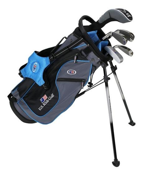Rieragolf Set Junior Golf Us Kids Celeste 6-8 Años #1 Mundo