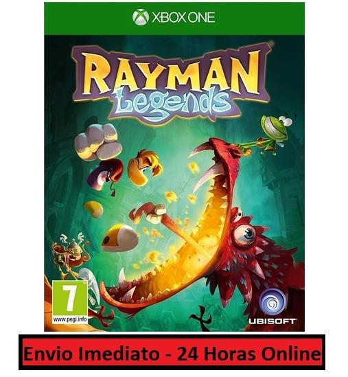 Rayman Legends Jogo + Todo Conteúdo Extra Xbox One Digital