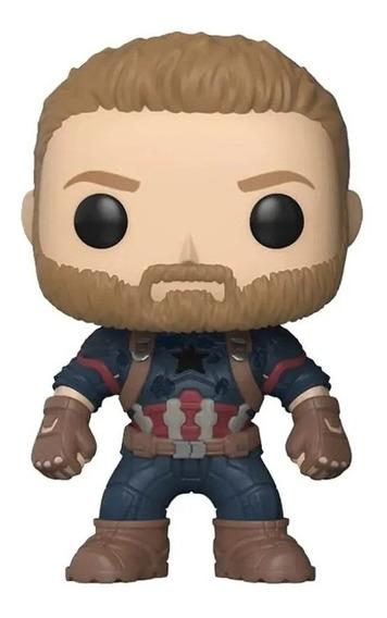 Boneco Funko Pop Avengers Vingadores Captain America 288