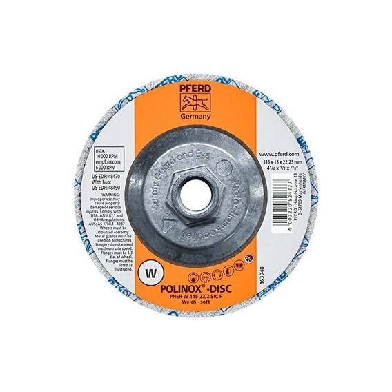 Pferd 48490 Polinox Pner Disco Abrasivo No Tejido Unificado,