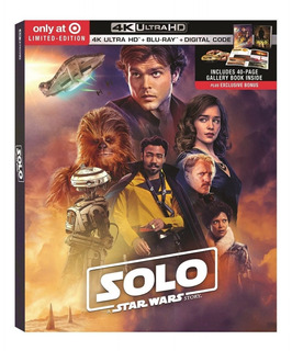 Solo A Star Wars Story Blu-ray 4k Digipack Target En Stock