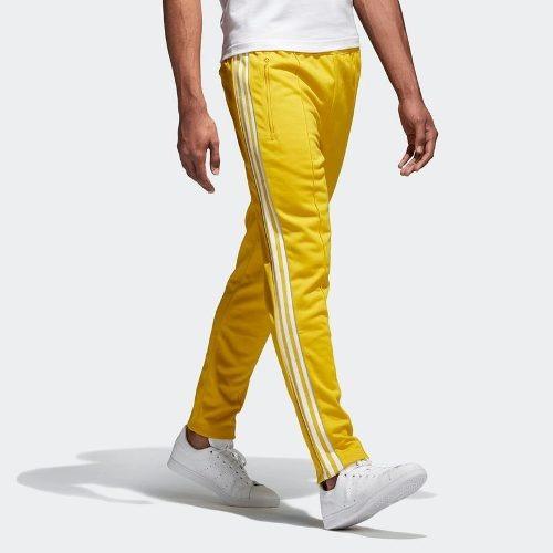 emoción Monarca infierno  Pantalón adidas Bb Track Amarillo Hombres- Originals | Mercado Libre