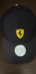 Boné Ferrari Preto Original