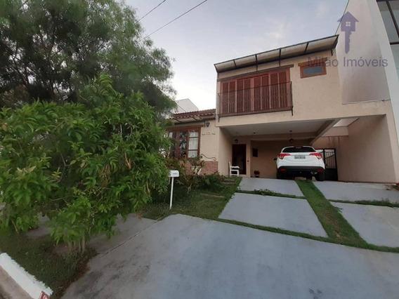 Sobrado Com 3 Dormitórios Para Alugar, 200 M² Por R$ 3.800/mês, Condomínio Aldeia Da Mata, Campolim, Votorantim/sp - So0388