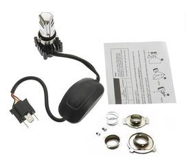 Lampada Farol Biz 100 / 125 Led Bi-xenon 8000k / 2500 Lumens