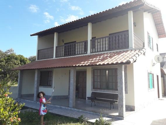 Linda Casa Em Araruama À 500m Da Lagoa.