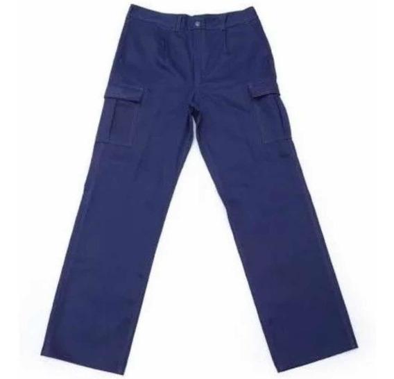 Pantalón Cargo Reforzado Con Bolsillo Porta Celular Ombu