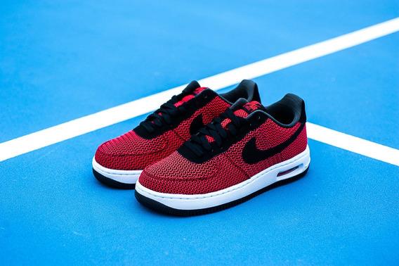 Nike Air Force 1 Lunar Red