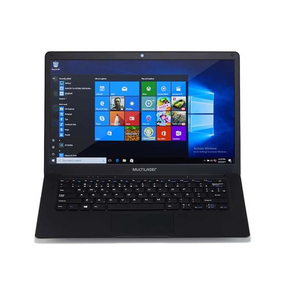 Notebook Legacy 14.1 4gb + 32gb Preto Multilaser - Pc208