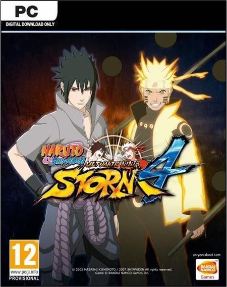 Naruto Shippuden: Ultimate Ninja Storm 4 Pc Steam 15 Dígitos