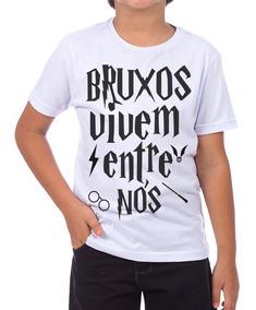 Camiseta Camisa Bruxos Vivem Entre Nos Harry Potter