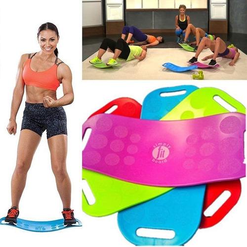84b7cd6f97 Prancha Equilíbrio Yoga Simply Fit Workout Board With Twist - R$ 129,00 em  Mercado Livre