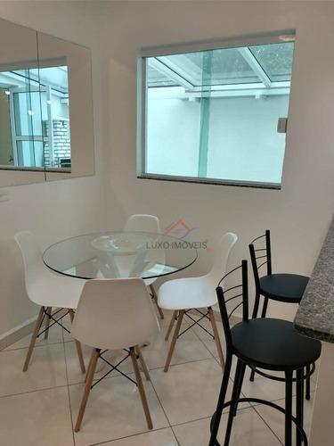 Imagem 1 de 23 de Apartamento Com 2 Dormitórios À Venda, 45 M² Por R$ 289.000,00 - Vila Eldízia - Santo André/sp - Ap0061