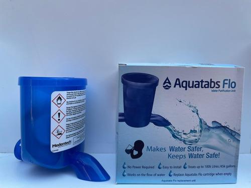 Aquatabs Flo, Dispositivo Para Desinfección De Agua.
