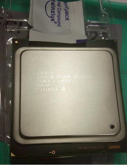 Processador Xeon 2670 V1 - 8 Núcleos / 16 Threads