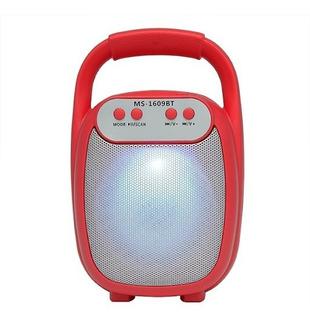 Parlante Portatil Bluetooth Usb Sd Fm Ms-1609bt