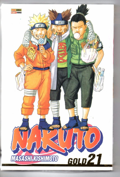 Naruto Gold 21 - Panini - Bonellihq Cx195 M20