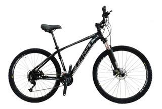 Bicicleta Aro 29 First Lunix Freios Hidrául. Shimano 27 Vel