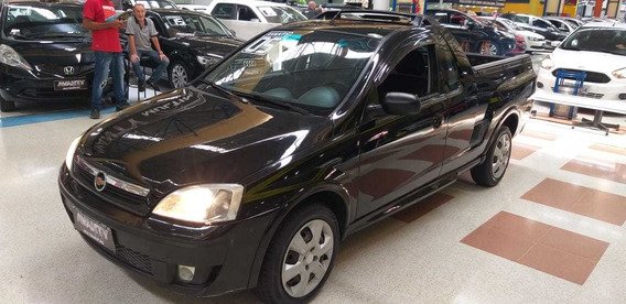 Chevrolet Montana Sport 1.8 Flex 2005 Completa Couro