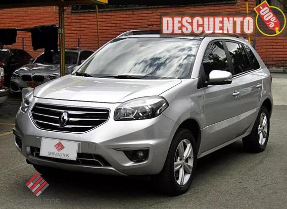 Renault Koleos Privilige At 4x4 2013 Dgy187- Salvamento Sura