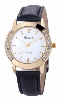 Relógio Feminino Geneva Com Caixa