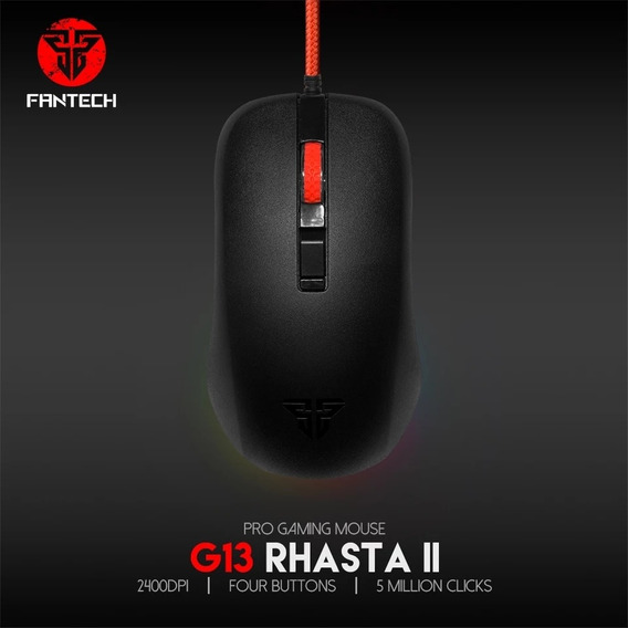 Mouse Fantech G13 Com Fio - 800~2400 Dpi