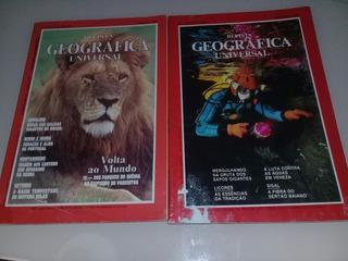 Lote Revistas Geográfica Universal N° 146 E 194