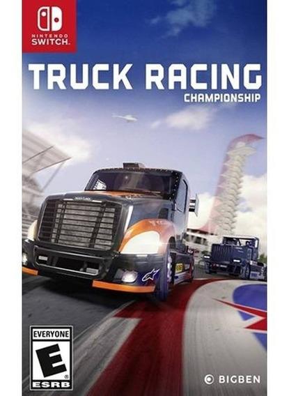 Truck Racing Championship Nintendo Switch Midia Fisica