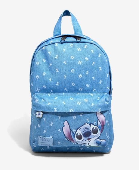 Mochila Mezclilla Lilo Y Stitch Disney Loungefly Original