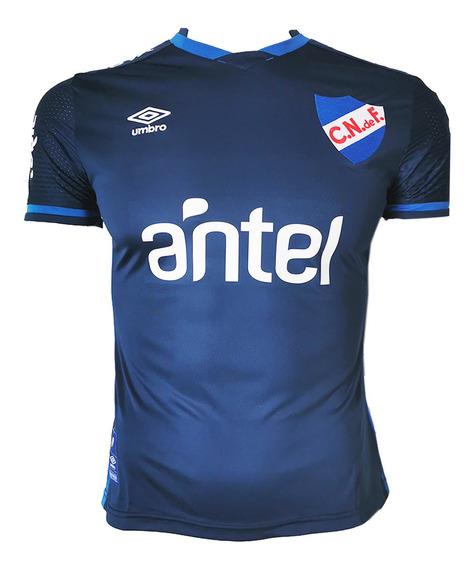 Camiseta Umbro Nacional Alternativa Con Sponsor Mvdsport