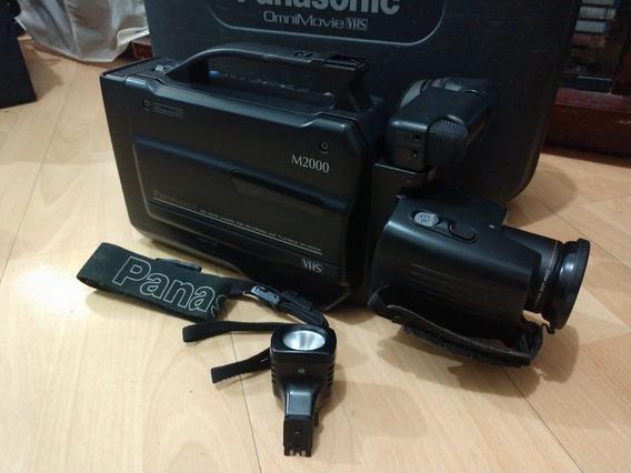 Câmera Filmadora Panasonic Vhs M2000