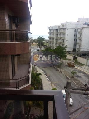 Apartamento Com 02 Dormitórios Para Locação Fixa, 78 M² Por R$ 2.200/mês - Bairro Vila Nova - Cabo Frio/rj - Ap0612