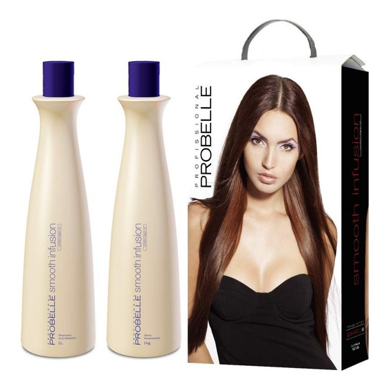 Kit Smooth Shampoo 1l + Gloss 1kg Probelle