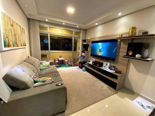Imagem 1 de 19 de Apartamento À Venda, 82 M² Por R$ 478.000,00 - Vila Guarani - Jundiaí/sp - Ap1851