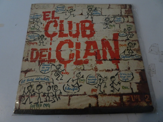 P Ortega, J Tedesco, L Fransen Club Del Clan Vol 2 - Vinilo