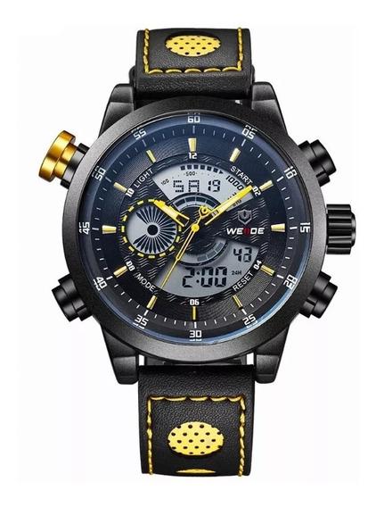 Relógio Masculino Analógico Digital Premium Weide Wh3401 Am