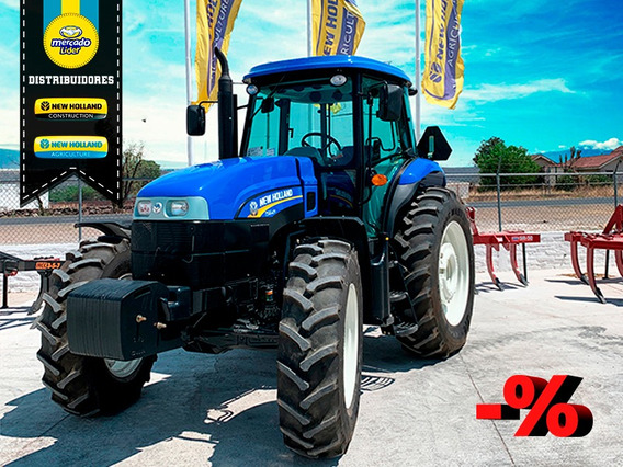 Tractor New Holland Ts6.125 Fwd Ms Cab