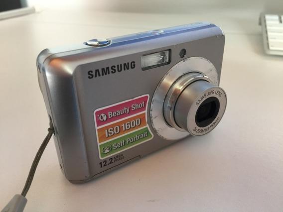Kit Câmera Digital Samsung + Porta Retrato Digital