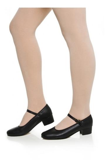 Sapato Dança De Salão Capezio Korino Salto 4cm - Sem Juros