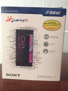 Celular Xperia Xa F3113 Color Negro Telcel